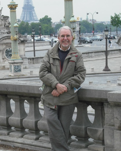Geoff in Paris 2009