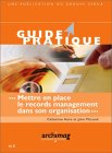 Click to enlarge cover of Guide pratique ...  records management